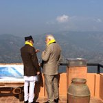 RT @MEAIndia: Bound together in the lap of the Himalayas. PM @narendramodi and PM Sushil Koirala in conversation. http://t.co/nxGU0Jn95r