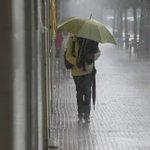 AVISO | Hoy jueves continuamos en AVISO AMARILLO por LLUVIAS, TORMENTAS, VIENTO y FENÓMENOS COSTEROS ¡Precaución! http://t.co/a7uZqpn3bs