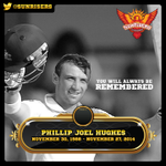 Our condolences go out to Phils family. Its a big loss for the entire cricketing community. #PhilHughes http://t.co/69EPBlICXr