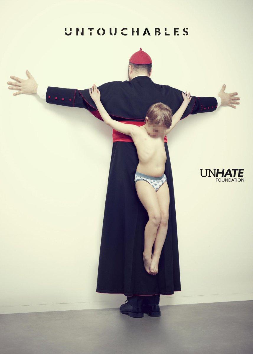 Sin palabras... Contundente campaña de 'UnHate. A veces la agresividad visual puede estar muy justificada http://t.co/z2f2vkv2Ps