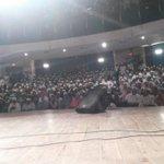 Everyone was screaming #MufflerMan MufflerMan .... Volunteer Meet in Mumbai http://t.co/ZxUpO1qXQE