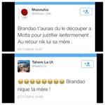 Apparemment il se passe un truc sur Twitter avec les mamans de #Brandao et de #Motta #Poesie http://t.co/uVZZG2j1UQ