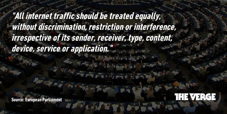 The European Parliament's definition of net neutrality is perfect. http://t.co/1AmmmEn6IG http://t.co/387p0sYLE9