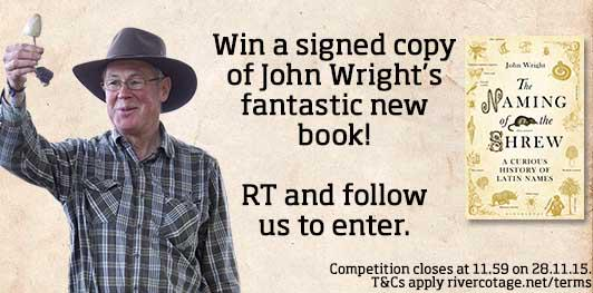 WIN a signed copy of @johnmushroom's new book #NamingoftheShrew! RT and follow to enter. http://t.co/ZhYz047iu9 http://t.co/2XZ06uz0LO