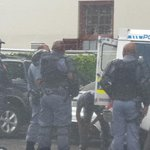 Managed to get this pic of police putting on protective @ParliamentofRSA @janetheard @gerbjan @andiMakinana http://t.co/ymKKElM8bp