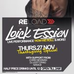Colchesters busiest Thursday week in, week out! Joined by @LoickEssien tonight.. Full house guaranteed! http://t.co/k0dSQb4lkg