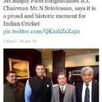 All these and few other cronies or let's say crooks should be buried with #mafia #boss #nsrinivasan & #@ramansundar