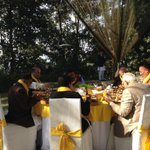 Convivial atmosphere at retreat, sets the tone for concluding session of SAARC Summit. http://t.co/ICp8ZdNW7k