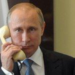 Песков: Путин разговаривал с Порошенко, но не угрожал ему http://t.co/MQuYe1mCnV http://t.co/ubV0GKS2rV
