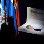 Прощание с легендарным хоккейным тренером Виктором Тихоновым прошло в Москве http://t.co/voHL5GrEld http://t.co/fINjwA45Vz