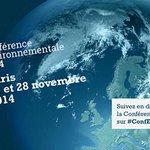 [#ConfEnvi] Suivez louverture de la Conférence environnementale à l@Elysee en direct sur http://t.co/PXeYkHpxWM http://t.co/CaI14Pfxn1