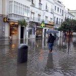 @MeteoCadiz @EltiempoenCadiz inundaciones en Sanlucar de Barrameda por las fuertes lluvias http://t.co/ImylkaAQPd