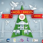 Ouverture du marché de Noël #Brest le vendredi 28 novembre à 11h http://t.co/BkKmrNEV5O http://t.co/Vr8kf1T7gH