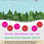 Dont miss Bawburgh School Christmas Fayre this Saturday 29th November 12-2pm #NorfolkHour #Norwich @enjoynorwich http://t.co/FHFKCN0cES