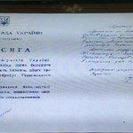 #Украина #Рада8 Присягу Савченко показали всему миру. http://t.co/PlSikMfEr0 #РФ держит в тюрьме депутата ВР Украины! http://t.co/RWN0vMKQR2