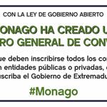 Con #Monago Por primera vez todos los convenios de la administración deben ser públicos http://t.co/BFUQYDKzRs