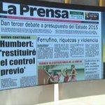 Lectura de los principales diarios de #Panama con @gretelmendez http://t.co/YiarrsU2DM