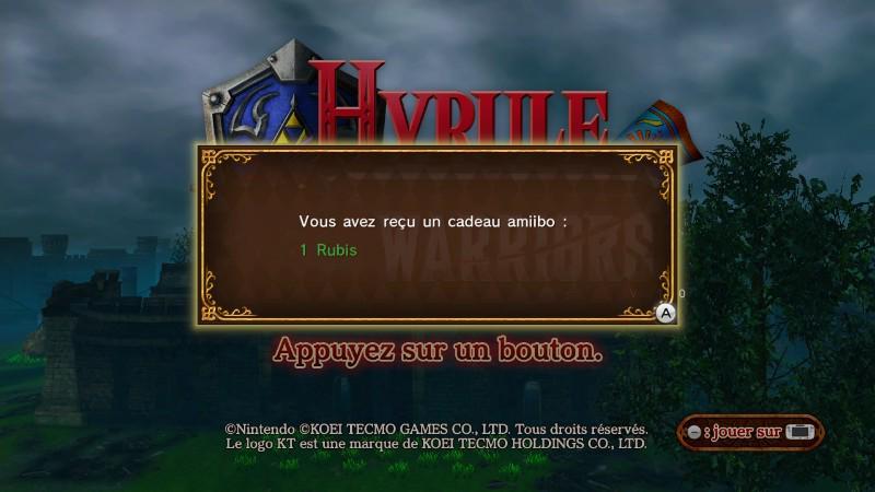 RT @drlakav: super les Bonus #Amiibo avec Hyrule Warriors, je suis super Heureux T^T http://t.co/XAcOssdWlH