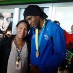 #DeportesLEP La campeona mundial de boxeo Atheyna Bylon llega a suelo patrio http://t.co/7JTRuKpYNQ http://t.co/MdjNRo5b1N