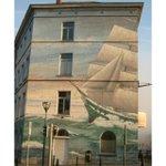 We can even feel the #ocean #breeze #Brussels #streetart by @judit_szoke http://t.co/7xLo5xjEjG