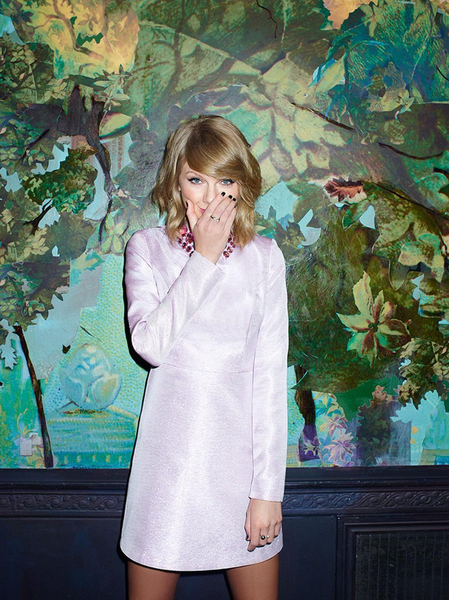 See @Taylorswift13 sparkle in a new ASOS editorial: