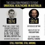 Purely ideological ploy, to destroy universal healthcare. Coalition against it since start #Lateline #abc730 #AusPol http://t.co/sellJxulj4