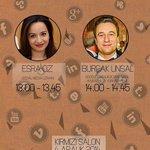 Sosyal Medya Uzmanı Esra Öz, Google New York ve Istanbul Eski Hukuk Danışmanı Avukat Burçak Ünsal 4 Aralık Perşembe + http://t.co/uzdQEsNXGW