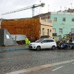 El temporal inundó Cristóbal Colón y obligó a cortar el tráfico en el Campo del Sur http://t.co/9Qlt01Y3vS http://t.co/Nw3qD6BPqb