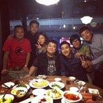 3rd ROUND. Having dinner with Taiwan Family ???????? http://t.co/VyU4V8YwnR
