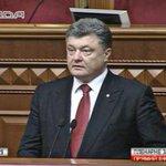 """Порошенко передал """"пламенный привет"""" Западу и РФ за советы по федерализации #рада8 http://t.co/nGIBev4aMf"""