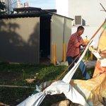Alcaldía de Panamá realiza demolición de construcción ilegal en El Cangrejo, Bella Vista. http://t.co/iUIOf2TTaW