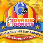 Coverage of the 6abc/Dunkin Donuts Thanksgiving Day Parade starts at 8:30 a.m. #6abcTDP http://t.co/88FLxxLmgj