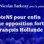 #JeVoteNS pour enfin avoir une opposition forte face à François Hollande ! http://t.co/326VX12HpD