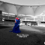 The Dubai International Stadium is mourning the loss of #PhilHughes. Stay strong everybody. @CricketAus @murgersb http://t.co/1EptyuX0Te