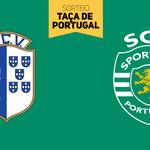 Vizela-Sporting na Taça de Portugal! O que achaste do sorteio? http://t.co/9v3FmE40ex
