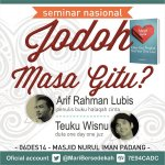 Seminar #HalaqahCinta di #Padang 6Des14 tiket CP: @MariBersedekah pin:7E94CADC BUY1 GET 1FREE http://t.co/CZzlVY4tmz