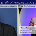 """""""Bruxelles contre les terroirs ?"""" Conférence à @sciencespo le 2 décembre 19h15 avec @BernardLannes et @PericoLegasse! http://t.co/OKb8Set8lt"""