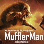 #MufflerMan - The Corruption Hunter http://t.co/UYCjN1Auax