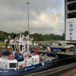 Sexta compuerta de la ampliación del Canal de #Panamá es trasladada desde Colón http://t.co/SaERxiSMKT http://t.co/6y6uAPBkGO