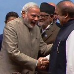 Strong PM, delivering Stern Message to Nawaz Sharif after hearing 3 soldiers killed by terrorists after crossing IB http://t.co/karFGZXWyF