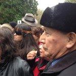 #FirstNations leaders and protesters begin march up #Burnabymountain. #cdnpoli #bcpoli #tarsands #kindermorgan http://t.co/kE8W65X2J6