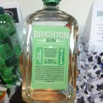 Exclusive! BEHOLD the prototype #Brighton Gin! Coming soon to Brighton shops @BrightonGin http://t.co/jBmb7hOBJ2
