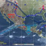 Rachas de 148 Km/hr en la zona de La Ventosa continúa el Alertamiento por Evento de Norte Fuerte en el Istmo #Oaxaca http://t.co/gGF7vqOTYq