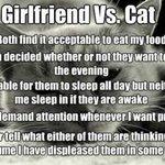 Girlfriend vs. Cat http://t.co/PvkldY0kgr