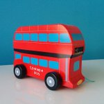 London Gift Guide: wooden #London double decker bus from @ltmuseum shop http://t.co/iNWtb3ST6O http://t.co/L0NORkDd8z