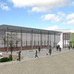 Heres the first look at the new £10.5m swimming pool at Perdiswell in Worcester.. @myworcester wants it open by 2016 http://t.co/T2LjgXfkBC