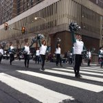 Time to #FlyEaglesFly in the @6abc Thanksgiving Day parade. Starting off #BirdDay right! http://t.co/1yGd3NkS76
