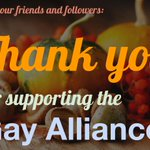 Were so grateful to be part of the #Rochester #LGBTQ community! #Thanksgiving http://t.co/mwFS0ybjzl