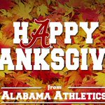 Happy Thanksgiving from Alabama football! #BamaThanks #RollTide http://t.co/yGjUVC6jLr