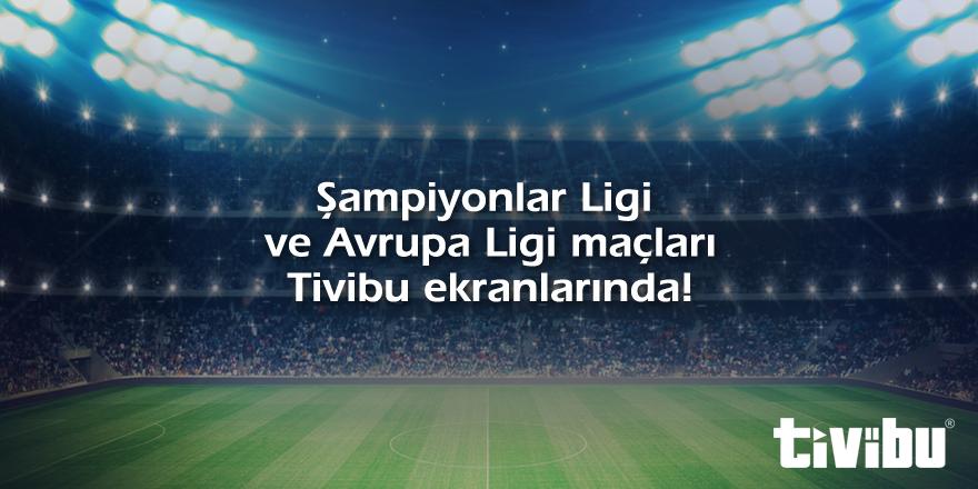 Dört gözle beklenen UEFA Şampiyonlar Ligi ve Avrupa Ligi tüm maçları 2015-2016 sezonundan itibaren Tivibu'da! http://t.co/bs3nEIvPG8
